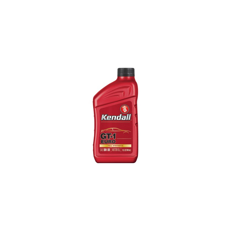 Kendall 5W/30 GT-1 FULL SYNTHETIC EURO MOTOR OIL