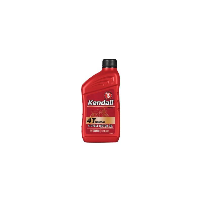Kendall 1043203 GT-1 20W-50 Motorcycle 4-Stroke